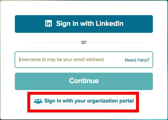 organization portal link