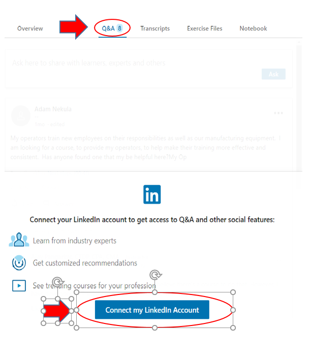 Linking LinkedIn to LinkedIn Learning