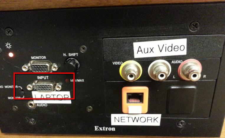 Monitor vs input ports