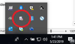 Software Center Icon in tooltray