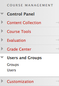 Users and Groups