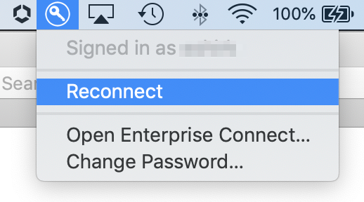 Enterprise Connect Reconnect