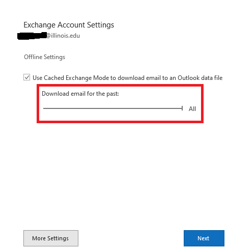 Office 365, Email, Exchange, Change how much mail to keep