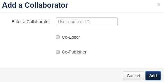 add a collaborator