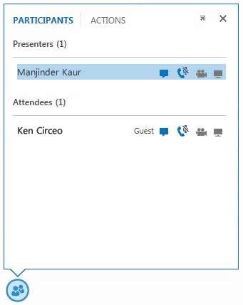 Manage Participants