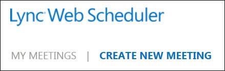 Web Scheduler