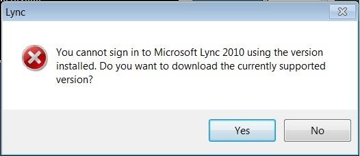 Lync 2010 Block