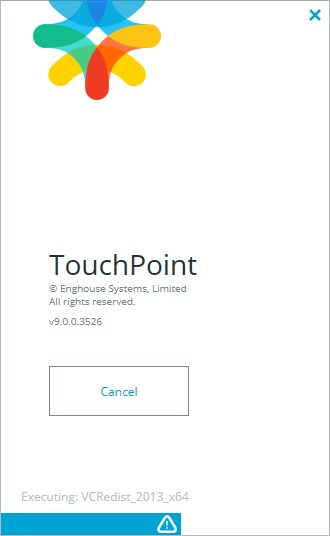 TouchPoint Install Progress