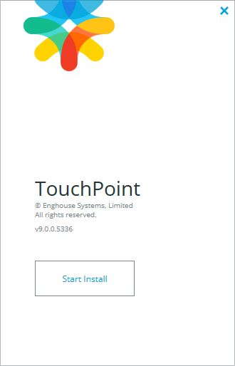 TouchPoint Upgrade Start Install