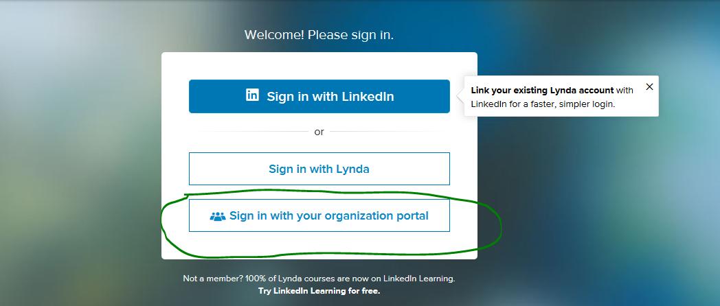 Lynda.Com LogIn2