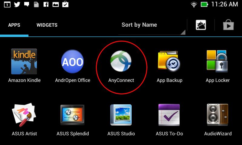 Configuring App