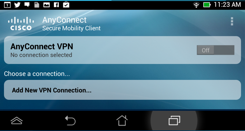 Add VPN Connection