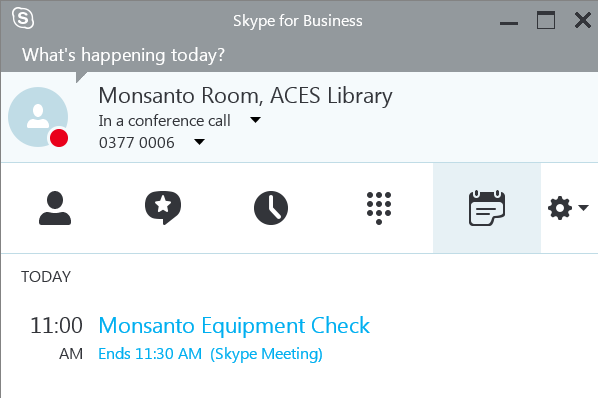Join from Monsanto Room