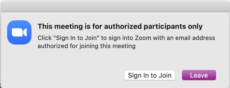 Authorized participants only
