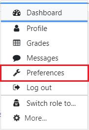 Profile box preferences