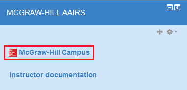 McGraw-Hill campus screenshot