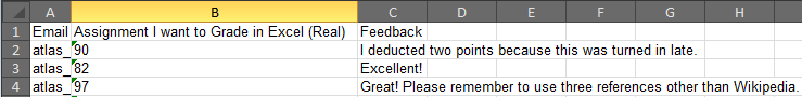 Upload Ready Excel Table