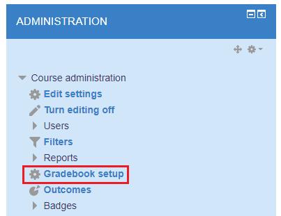 Gradebook setup Link