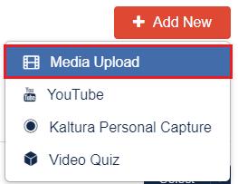 Media upload