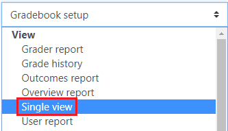 Select Single View
