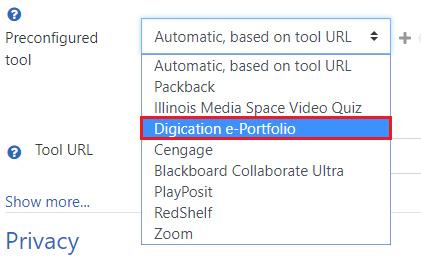 Digication e-Portfolio