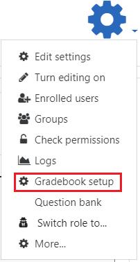 Slect gradebook setup