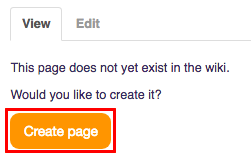 Create page
