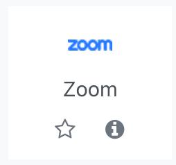 Zoom activity icon
