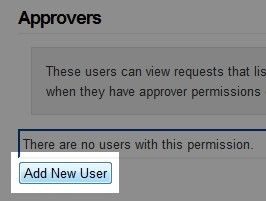 Click 'Add New User'