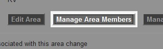 Click the 'Manage Area Members' button, located to the right of the 'Edit Area' button